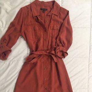 Button down dress